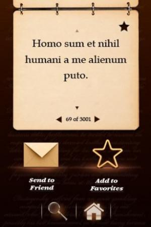 ancient latin sayings