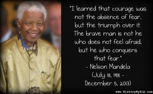 Nelson Mandela Our Deepest Fear