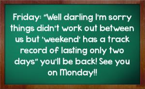 Monday Facebook Status