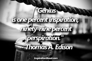 Wise and Famous Quotes of Thomas Edison