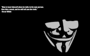 Quotes About Truth And Reality: A Mask Will Tell You The Truth In ...
