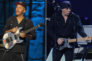 Bruce Springsteen Tom Morello Tom morello-steven van zandt