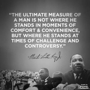If you'd like to help carry Dr. King's message, share the image ...