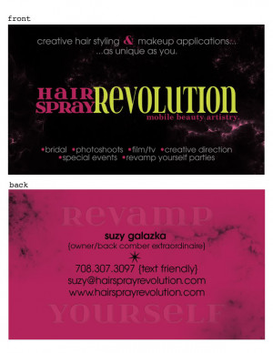 Hair Stylist Business Card Quotes Hair Stylist Quotes