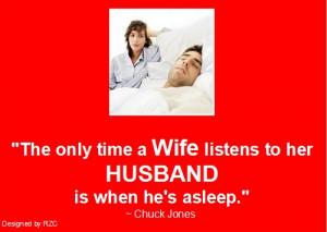 ... husband is when he's asleep.