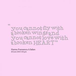 Broken Wings Quotes