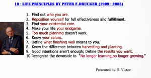 Peter Drucker Quotes:
