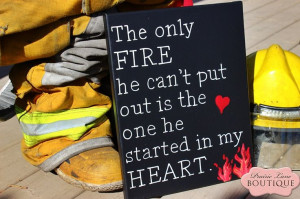 am in love with this firefighter girlfriend