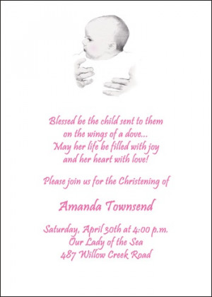 catholic baptism poems and quotes for baby