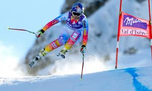 Lindsey Vonn competes in Val d'Isere. (GEPA/Mathias Mandl)