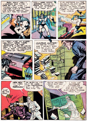 The Duke made only two other appearances; in TRIPLE THREAT COMICS #1 ...