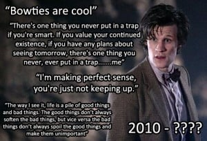 Matt Smith Who Quotes