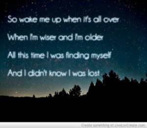 Avicii Dear Boy Quotes. QuotesGram Avicii Wake Me Up Quotes