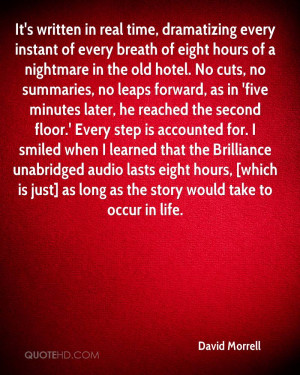 David Morrell Quotes