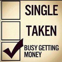 single #taken #money