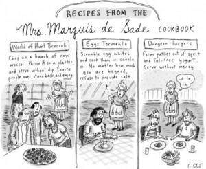 Famous Food Friday -- Mrs. Marquis de Sade