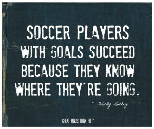 Posts related to Motivational Soccer Quotes For Girls