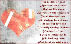 Breakup Messages for Boyfriend: Quotes to Break Up with Him