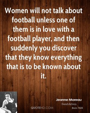 Love Football Quotes Quote