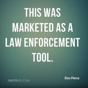 Law Enforcement Quotes