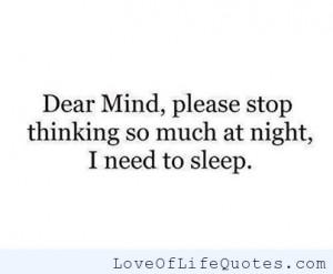 Need Sleep Funny