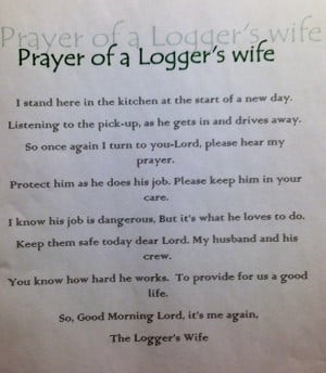Logger's Wife