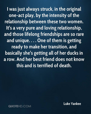 Luke Yankee Death Quotes