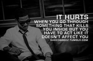 Quotes About Feeling Hurt Inside