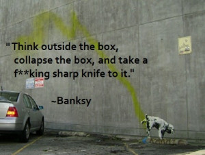 banksy quote about creativity d barlow banksy quote about creativity d ...