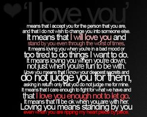 Love You Sad Love Quote