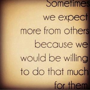 No Expectations Quotes No expectations no