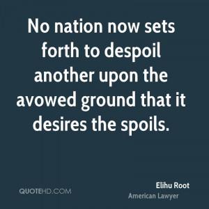 Elihu Root Quotes