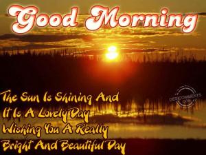 Wishing You A Beautiful Day