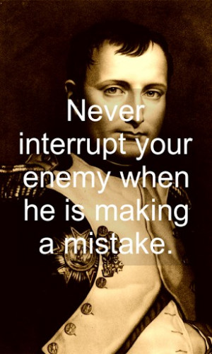 Napoleon Bonaparte quotes, is an app that brings together the most ...