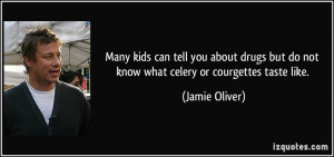 Many kids can tell you about drugs but do not know what celery or ...