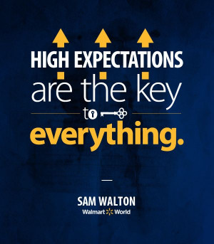 Sam Walton's keys to success? Aim high. Sam Walton, Aim High, Walton ...