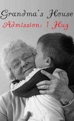 one great big hug more grandma hug a kiss children safe grandma ...