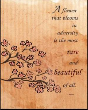 ... , Fav Quotes, Quotes Flower, Movie Quotes, Disney Mulan Quotes