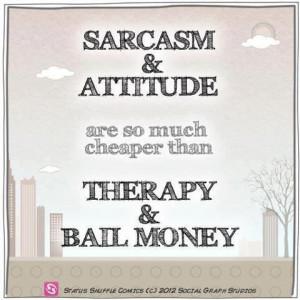 Sarcasm and Attitude