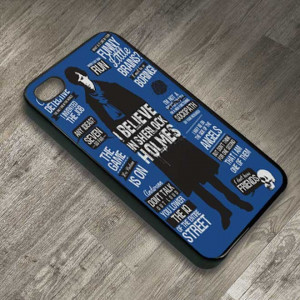 Home » Bestpricecase's booth » BBC Sherlock Holmes Quotes Case for ...