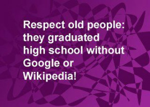 Respect old people