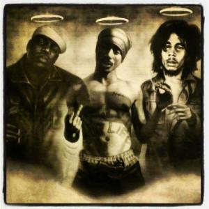 Biggie Smalls #Notorious B.I.G #Tupac #2Pac #Makavelli #Bob Marley # ...