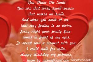 Girlfriend Birthday Poems