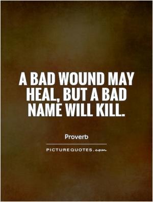 Reputation Quotes Proverb Quotes