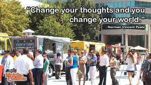 Norman Vincent Peale Inspiration Quote | Mobile Cuisine