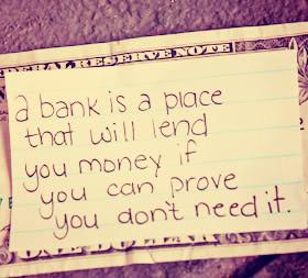 Bankers And Banks...