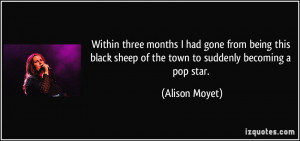 Being the Black Sheep Quotes