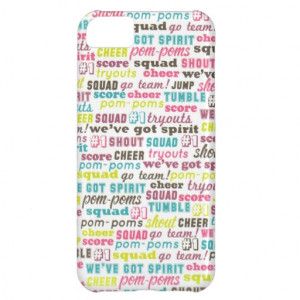 Cheerleading Sayings iphone 5 barely there case iPhone 5C Case