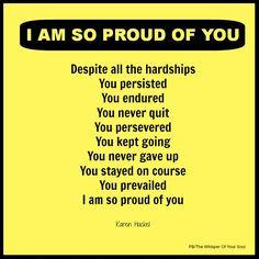 Am Proud Of You Quotes And Sayings ~ 4a99d977174b343f8d9e9393a
