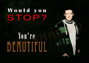 Cory Monteith Quotes, Cheer Fans, Quotes Instant, Glee Quotes, Quotes ...